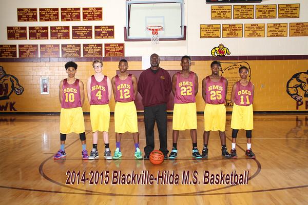 2014-2015 MS Boys Basketball