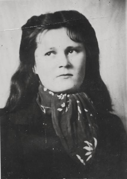 Helen Mazarenko's Sister, died during WW II in Europe