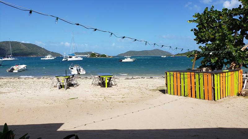 Jeremy's Kitchen, Trellis Bay, Beef Island, British Virgin Islands.