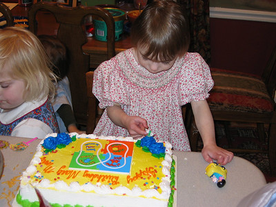 Birthday - Mary Moore turns 3