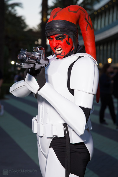 Michele Star Wars Celebration 2015