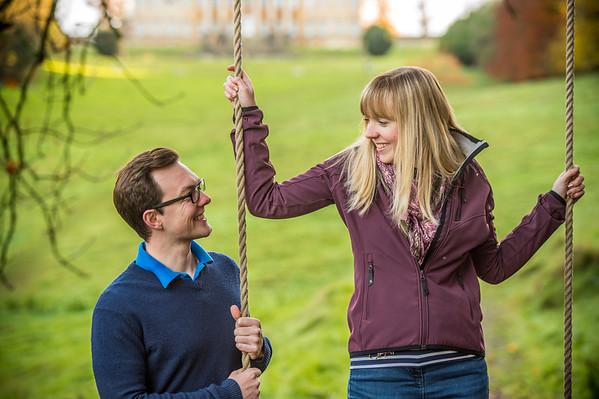 Laura & Michael Engagement shoot, Prior Park, Bath