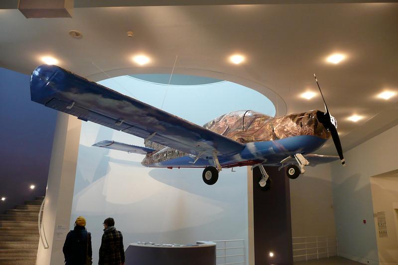 Google Plane 1968. Museu Berardo. Belém, Lisbon