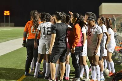 West Mesquite Girls Soccer vs Forney 2016-17
