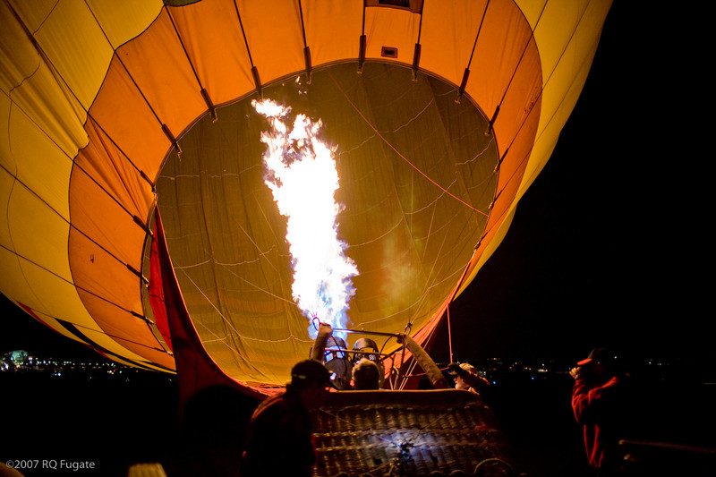 Dawn Patrol first launch inflates
