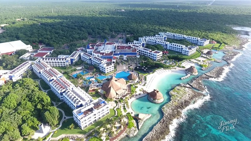 HARD ROCK HOTEL IN MEXICO  DRONE STYLE