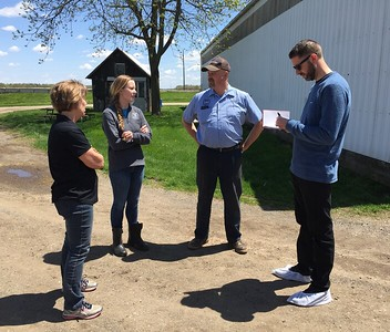 Dustin Walsh of Crain's Businss Detroit visits Horning Farms