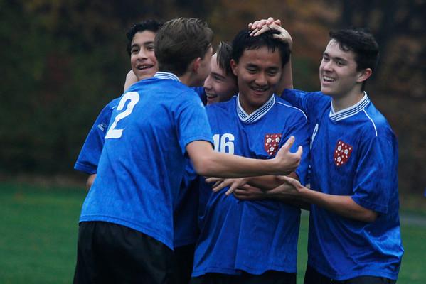 Boys' JV2 Soccer: October 29