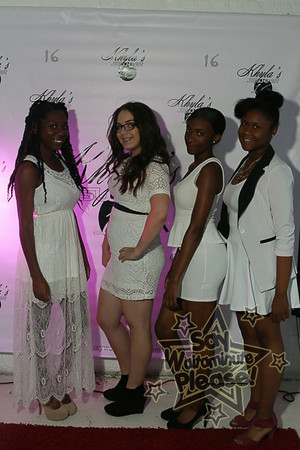 Khyla's Sweet 16 White Affair.....