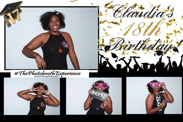 Claudia's 18th