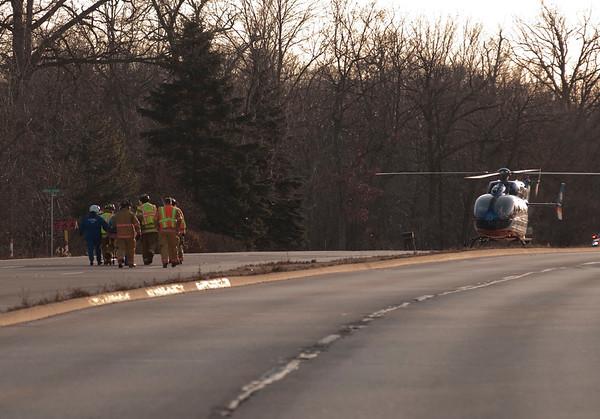 Bensenville FD - Dec. 16, 2009 - Extrication accident 83 & Third