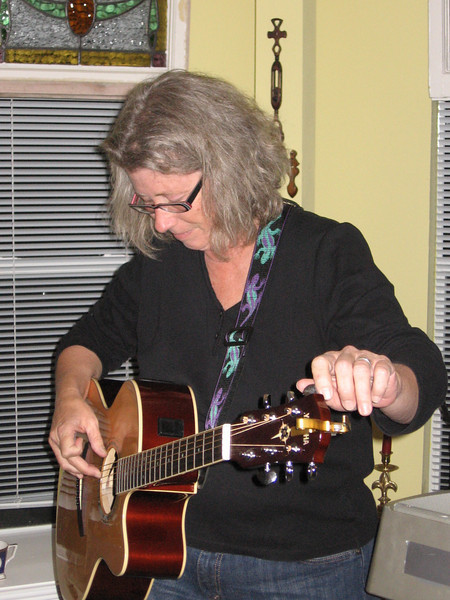 Lorinda tunes because she cares