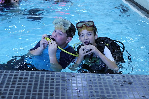 Scuba Diving in Phys Edu