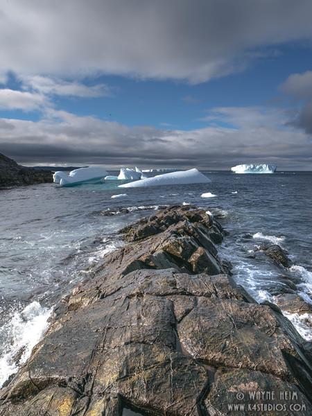 Icebergs 72b    Photography by Wayne Heim