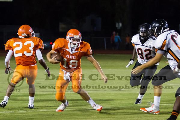 Boone JV Football #18 - 2012
