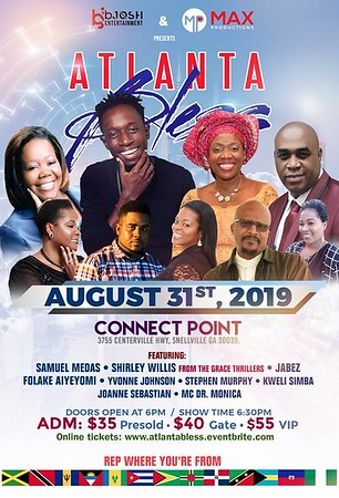 ATLANTA BLESS GOSPEL CONCERT 2019