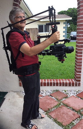 DJI Ronin and vest