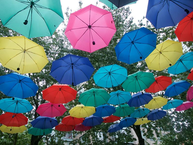 Umbrellas for all