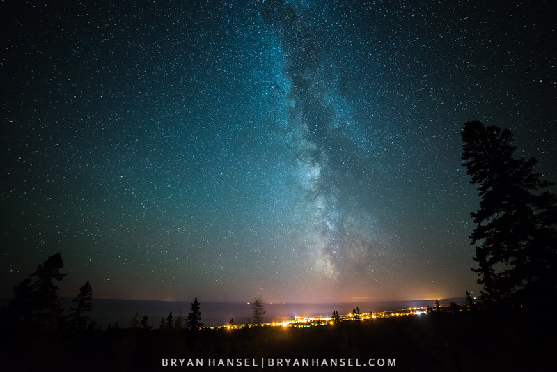 Milky Way over Grand Marais