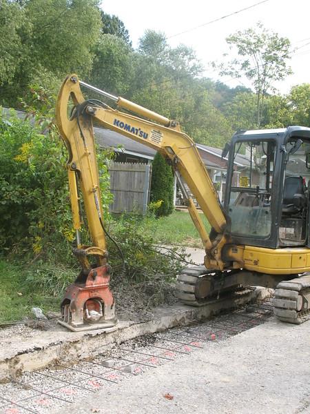 NPK C2D compactor on Komatsu mini excavator (1).JPG