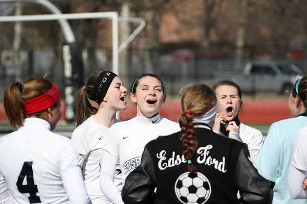 Edsel Girls Soccer vs Grosse Ile
