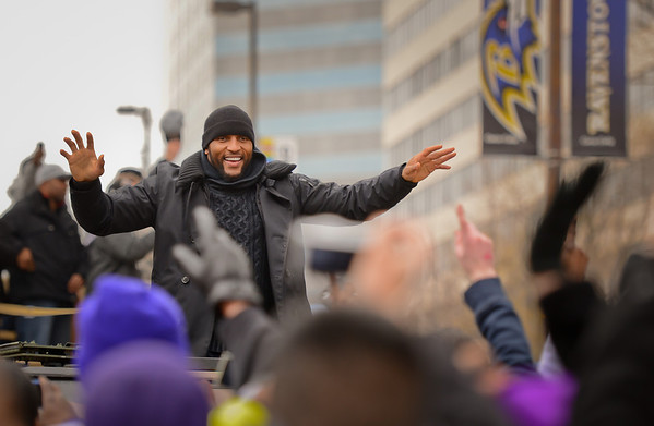 Ravens Super Bowl Victory Parade 2013- On Assignment for The Daily Record