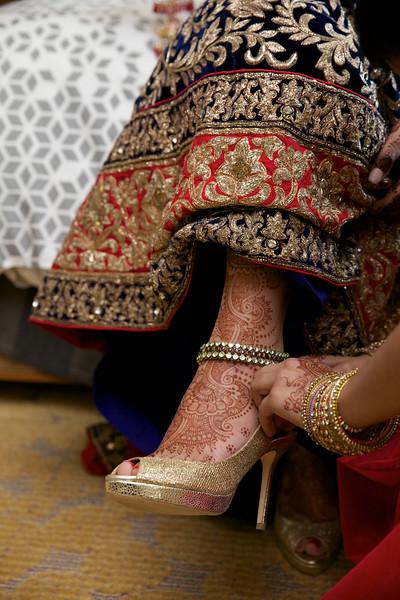 Le Cape Weddings - Indian Wedding - Day 4 - Megan and Karthik Bride Getting Ready 24.jpg