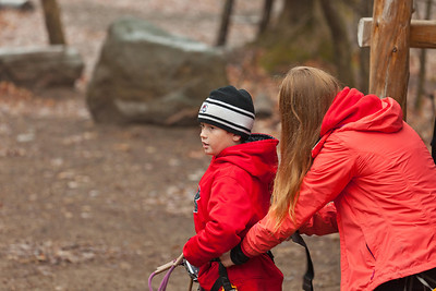 Barrie Treetop Trekking Nov 22, 2013