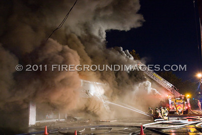 Boston Post Rd. 3rd Alarm (Milford, CT) 8/2/11