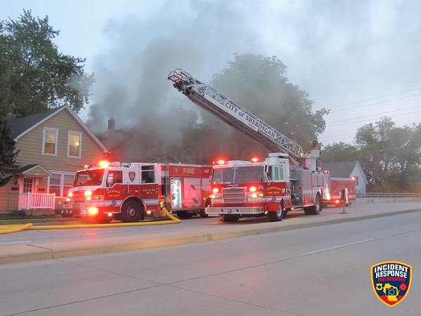 House fire on July 30, 2014