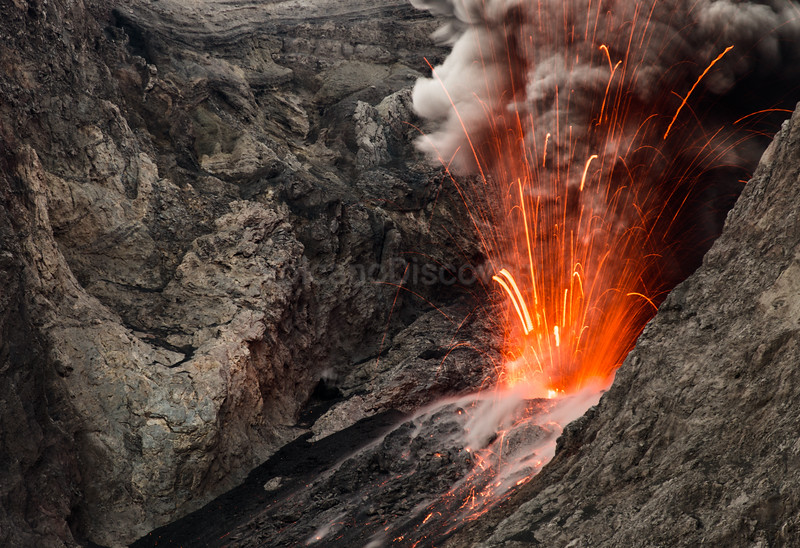 Evening eruption