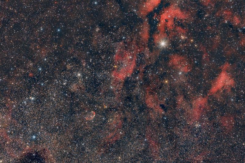 Omgeving Sadr - Crescent Nebula