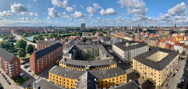 Copenhagen Views from Steeple of Old Savior's Church