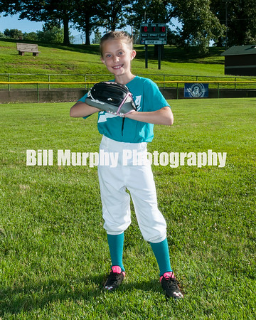 2016 5-7 Softball Teal Green Team, June 7, 2016