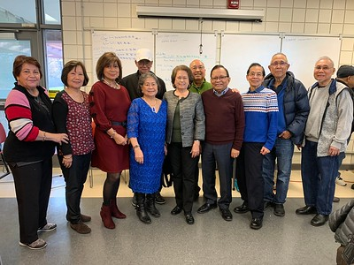 Filipino Seniors of Mississauga Elects Officers