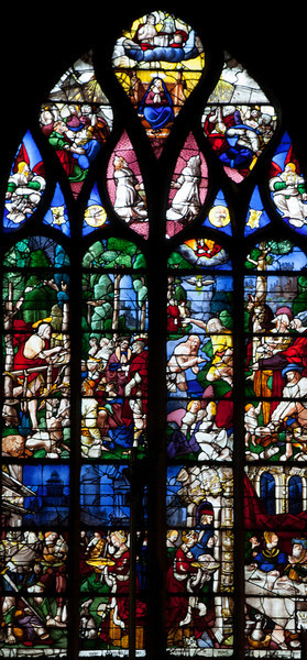 Pont-Audemer, John The Baptist Window