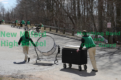 Green Heat Winter Percussion March 23 - Bunnell & J. Law