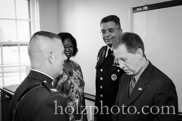 Change of Command bw