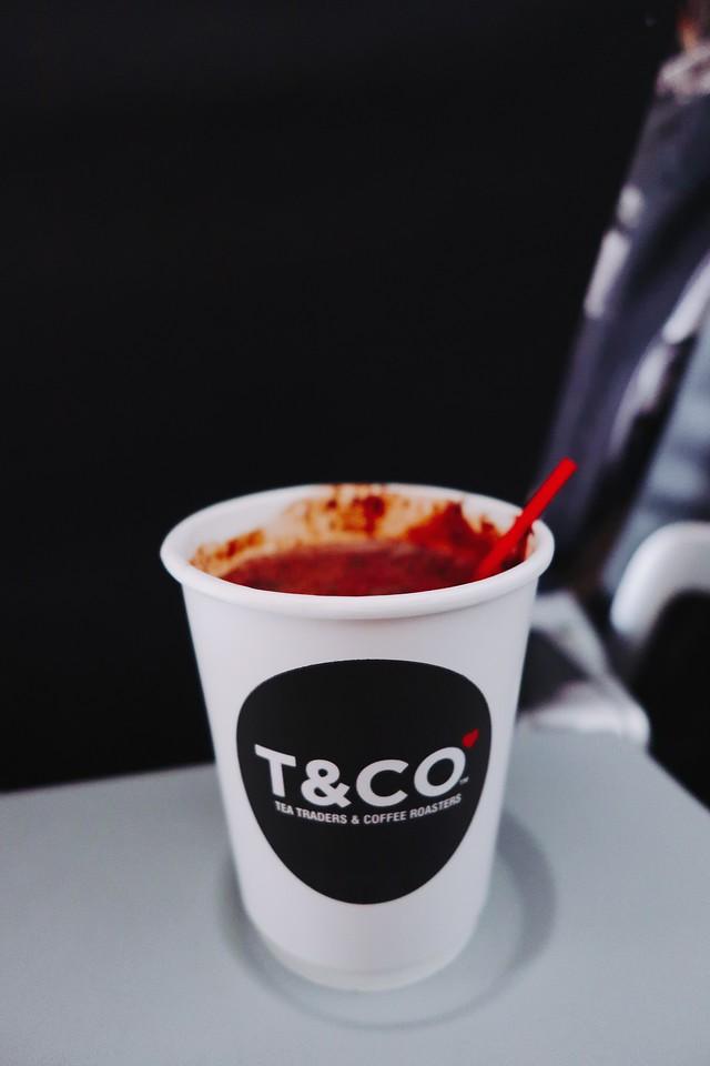 AirAsia Plane Hot Chocolate