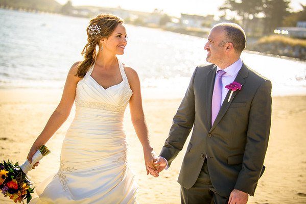 Kristi and Derek - Wedding Photography, Oceano Hotel, Half Moon Bay, California