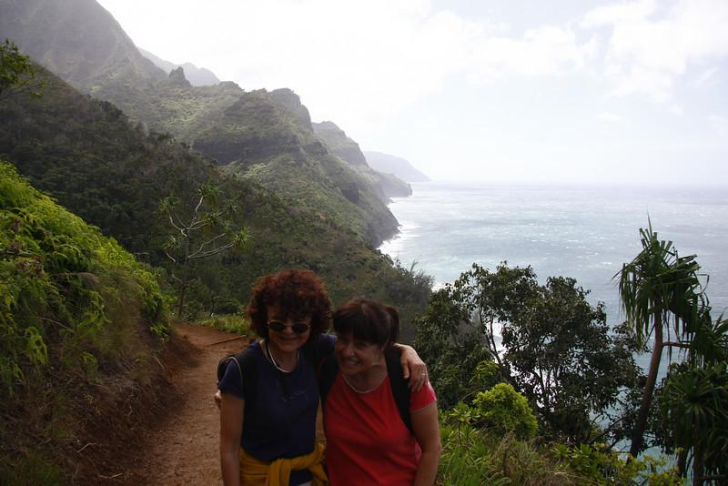 kalalau hike trail - napali coast