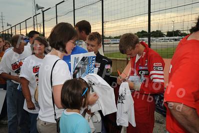 Autograph Session, Fans, Sponsors & Displays