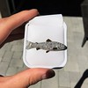 3.00ctw Art Deco Diamond Fish Brooch 1