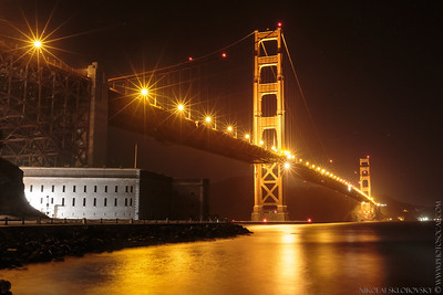 GGB from Fort Point quai