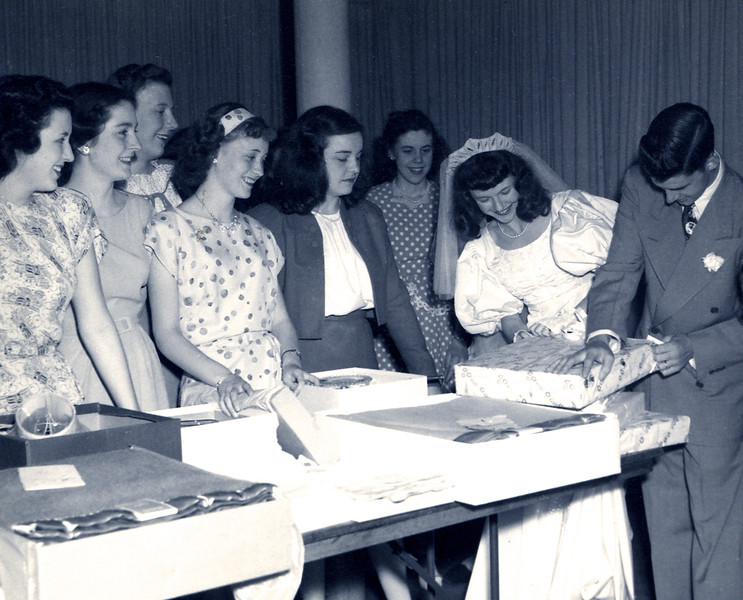 7/2/47, Art & Dodie wedding day.