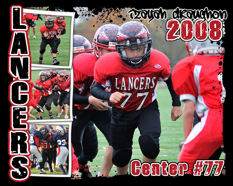 2008 Lancer Football Posters