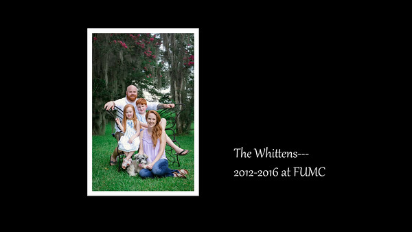 The Whittens--2012-2016 at FUMC