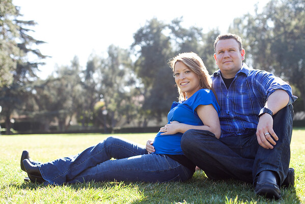 Elsie and Bobby Maternity - Claremont, CA