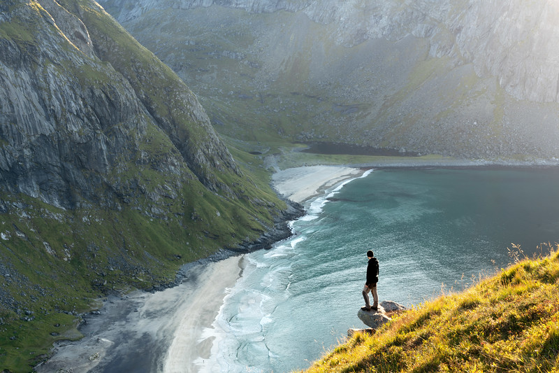 Ryten Hike Kvalvika Beach Lofoten Landscape Photography_1.jpg