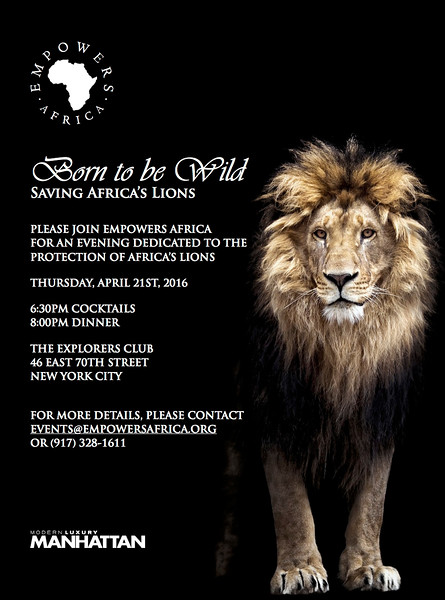 Empowers Africa: BORN TO BE WILD Annual Event
